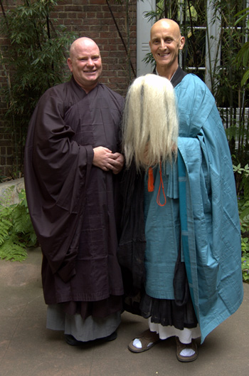 Daigan Gaither and Paul Haller