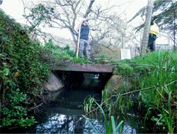 GGF Bridge over creek