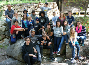 Group Picture at the End of Retreat at Tassajara_x350