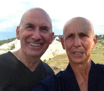Myogen Steve Stücky and Shodo Spring