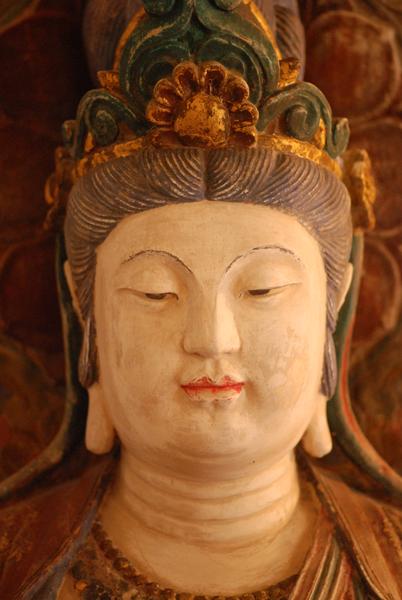 Avalokiteshvara, Bodhisattva of Compassion (photo: Florian Brody)