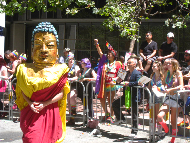 Buddha on Market Street