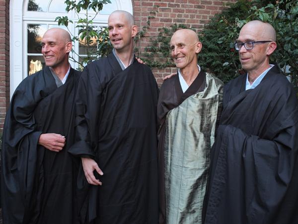 Gentoku Smith, Michael McCord, Ryushin Paul Haller and Zachary Smith.