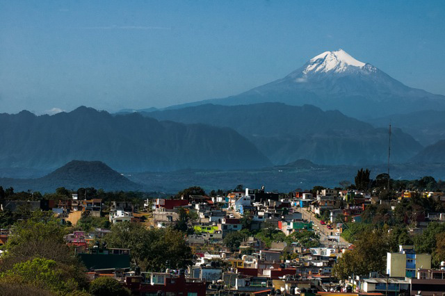 Citlaltépetl (aka Orizaba Peak, Morning Star) above Xalapa