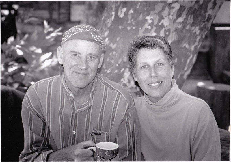 Daigan and Arlene at Tassajara, 1995