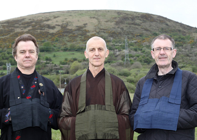 From left: Michael O�Keefe, Paul Haller and Frank Liddy