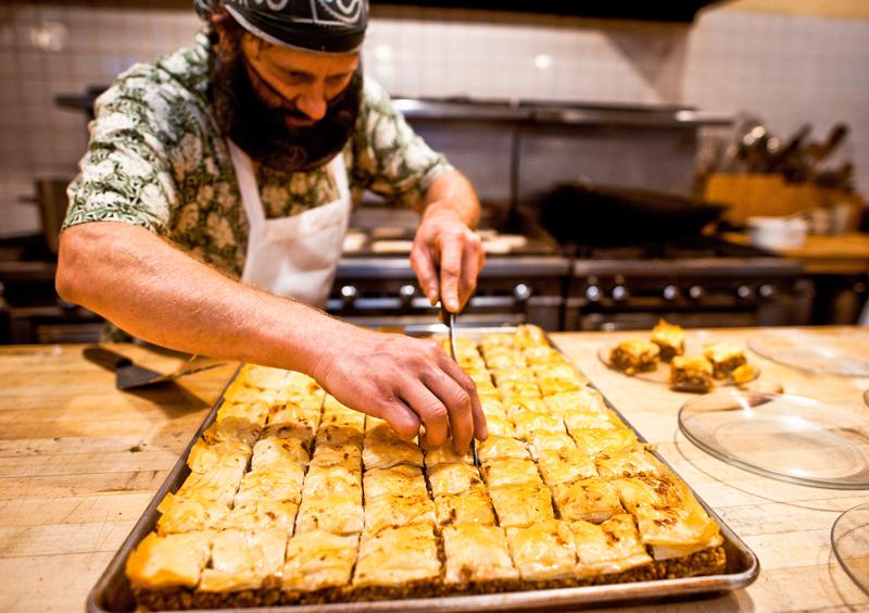Sioen in the Tassajara kitchen (Photo: John Appleby Hamish)