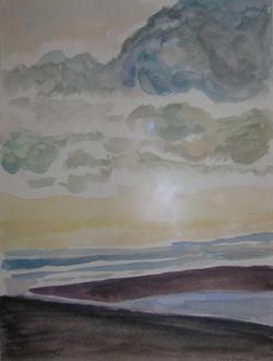 Watercolor by Tova Green