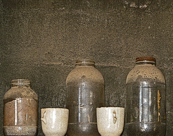 Still Life with Old Jars
