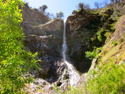 Waterfall at Tassajara by Steven Harper