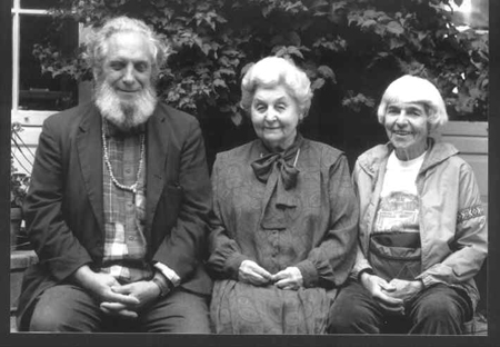 Photo of Ananda Dahlenberg, Della Goertz, Betty Warren