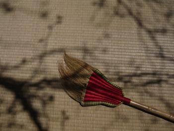 Tatami and broom