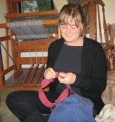 Lauren Bouyea: �I am knitting a sweater, have been knitting since 2000, when I took a class at school.�