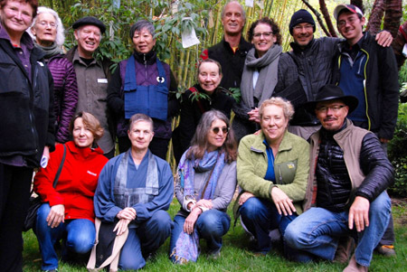 2013 Contemplative Caregivers (Brendan on far right, back)