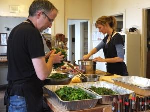 Volunteers - kitchen 3