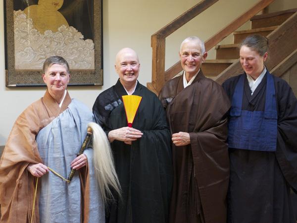 From left: Linda Cutts, Shokuchi Carrigan, Fu Schroeder, and Maggie Breuer (Photo: Renshin Bunce)