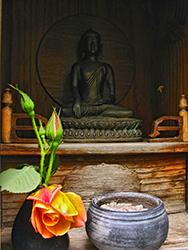Altar-at-Tassajara-Zen-Mountain-Center-by-David-Silva
