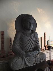 Buddha with Morning Sun by Shundo Haye