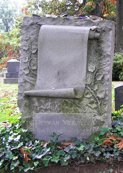 Herman Melville's grave