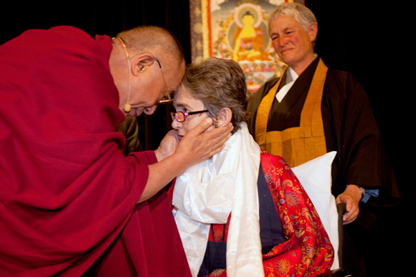 3rd Unsung Heroes of Compassion ceremony with H.H. the Dalai Lama.