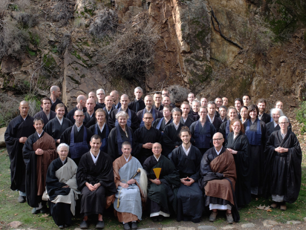 Participants in the Fall 2014 Practice Period at Tassajara.