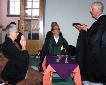 L to R: Layla Smith, Karen deCotis, Bill Milton
