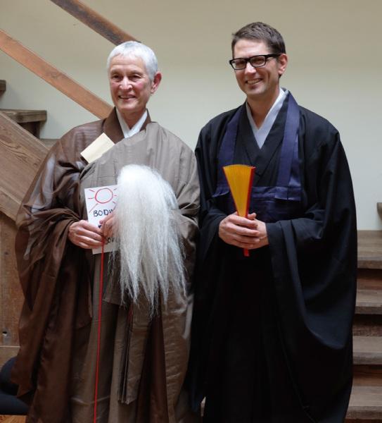 Abbess Fu Schroeder and Qayyum Johnson