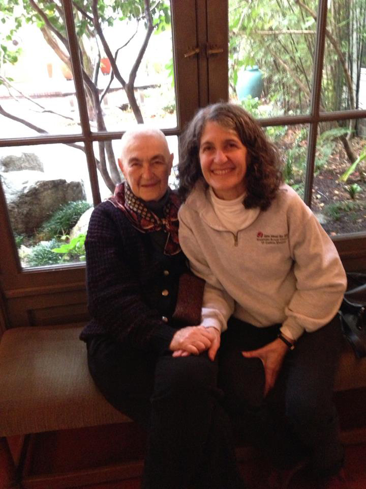 Blanche with Trudy Hartman