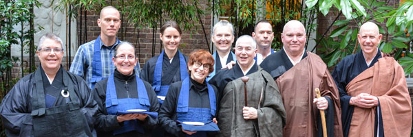 Jukai Precepts Ceremony for Seven Bodhisattvas