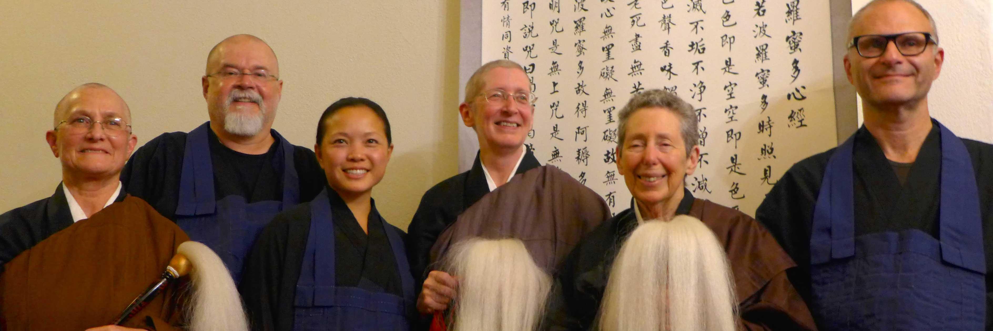 Welcoming Three New Bodhisattvas