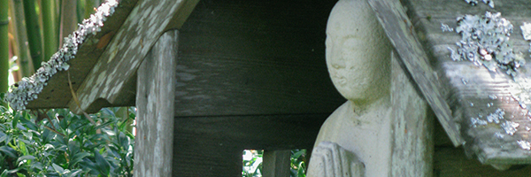 Practicing with Jizo in the Garden: Ceremony Honoring Yvonne Rand