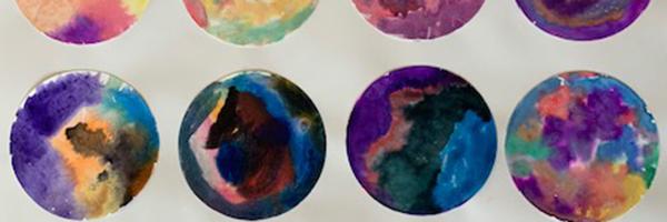April Art Show: John Muir Elementary Watercolor Paintings