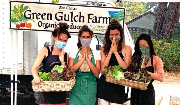 Volunteers Keep Green Gulch Farm at the Farmers Market