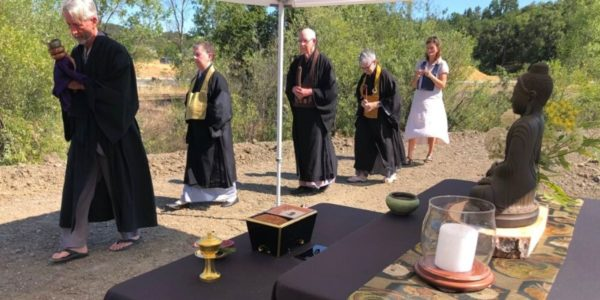 Blessing ceremony procession