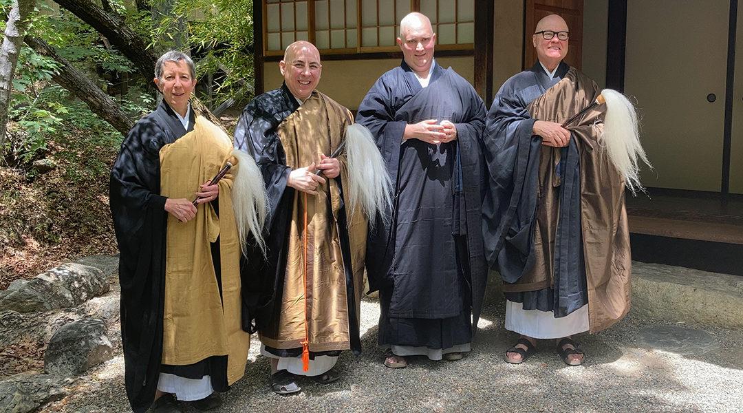 Spring Priest Ordination at Tassajara