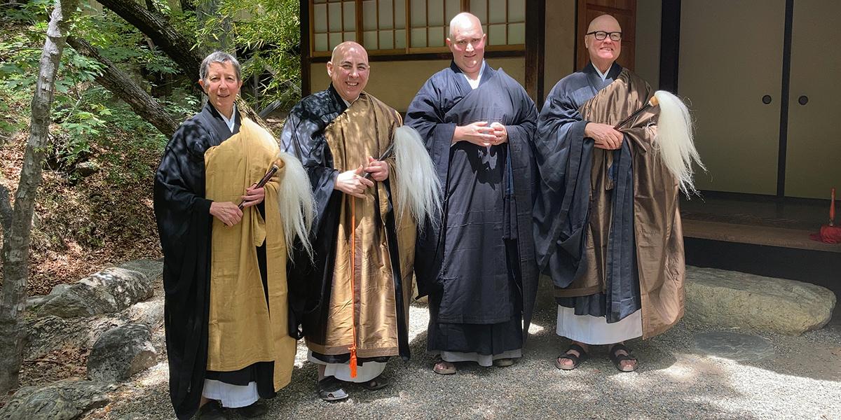 Tassajara ordination photo-2021